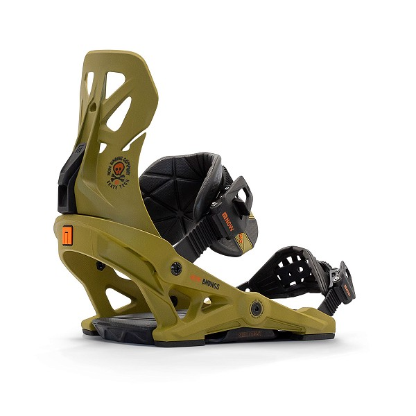 Brigade Snowboard binding from Now Snowboarding